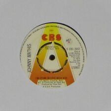 "JOHNNY MATHIS 'I'M STONE IN LOVE WITH YOU' UK PRESSED 7"" SINGLE DEMO COPY"