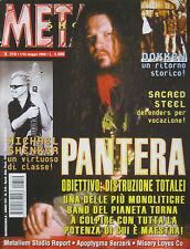 METAL SHOCK 310/2000 Pantera Sacred Steel Michael Schenker Dokken Bon Scott