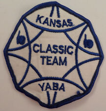Kansas Classic Team Yaba Youth Bowling Association Uniform Patch