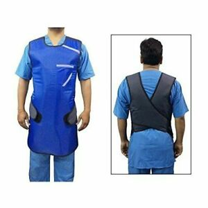 Lead Apron (Strap Type) 0.35mm with Thyroid Collar 0.50mm (BARC Approved)