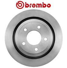 Rear Left or Right Disc Brake Rotor Coated 295 mm 5 Lugs Brembo For Ford Mercury