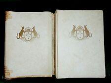 Vintage 1970 Australia's Heritage Folder & Book Collection - vol 1 & 2