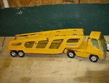 Vintage Pressed Steel Yellow Toy Car Nylint Hauler/Carrier Truck 1970's