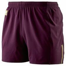 Mens SKIN'S Running Shorts Briefs Gym Base Layer Under Pants Sport Wear - Garnet