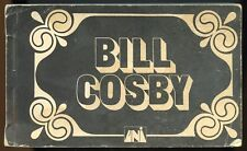 Bill Cosby  signed Flip Book  ( from TV show in the 1970's? ) Very Rare. G/VG
