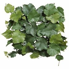 Weinlaub-Matte Kunstpflanze 32 x 32 cm in grün künstlich Dekopflanze
