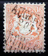 GERMANY BAVARIA 1870 SG63B Used Very Tiny Corner Crease Cat £375 NB1648