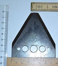 Busatis Mähmesserklingen, Messerbalken-Dreiecks-Klingen GB 180, für Balkenmäher