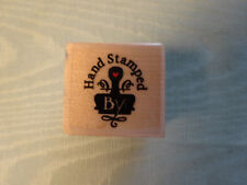 Embossing Arts Rubber Stamp:  1999 Hand Stamped By:  1485-A ~ in EUC