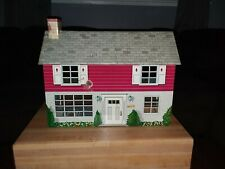 Mar Toys . Vintage Tin Doll House. Two Story.