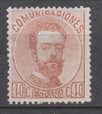 AMADEO 1872. 40 CÉNTIMOS NUEVO. 100 €
