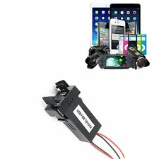 Car 5V 2.1A Dual USB Port Dashboard Mount Phone GPS Charger For TOYOTA GFY