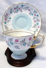 Tuscan Bone China England Floral Tea Cup & Saucer