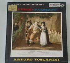 Verdi / Arturo Toscanini -  Highlights From Falstaff  LP Boxset LM-6111