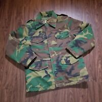 VINTAGE Timber King Mens Large Jacket Camo Hunting Hiking Insulated Zipper