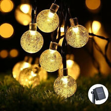 30 LED Solar Powered String Lights Outdoor Bulbs Patio Party Yard Garden