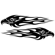 2 x Adler Flames JDM Tunning  Aufkleber  Decal Sticker Decals 24 cm