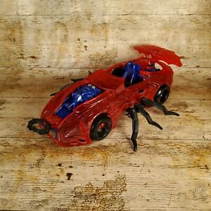 Vintage Marvel Toy Biz Spider-Man Web Car Vehicle Toy 1997 With Legs toybiz