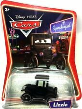 Disney Pixar CARS Supercharged LIZZIE Model T 1:55 Scale Diecast NEW IN PACKAGE!