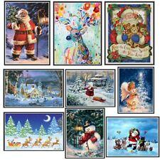 Christmas 5D Diamond Painting Cross Stitch Embroidery Rhinestone DIY Crafts Home