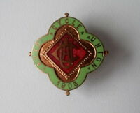 ACU - Auto-Cycle Union 1903 Knopfloch Abzeichen Emaille button pin vintage 1920s