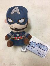 """Marvel's Captain America Mopeez 5"""" Plush Avengers"""