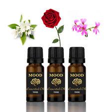 Essential Oils Set Floral Pure 3 10ml Jasmine Rose Rose Geranium Mixed Lot