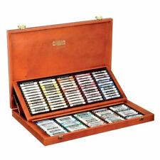 Koh-I-Noor 8539 Toison D'Or Set of 120 Soft Chalk Pastels in Wooden Case