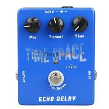 CP-17 25ms - 600ms Digital Delay Guitar Pedals Echo Delay True Bypass Blue New