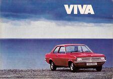 Vauxhall Viva HC 1975-76 UK Market Sales Brochure 1300 1800 Base L SL Estate