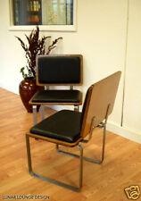 Ply Bak Side Chair mid Century Eames Era Retro Modern