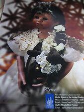 Cecile et Christine Porcelain ALYSSA Doll Ad Mundia Collection Advertisement
