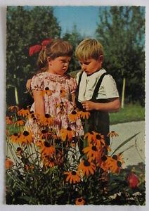 Cartolina d'epoca -  Bambini -  postcard - tarjeta -
