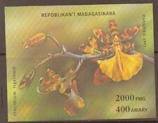 MADAGASCAR SGMS1132 1993 ORCHIDS M/SHEET MNH
