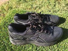 Women's Asics Kayano 23 Black Running Shoes Size 10.