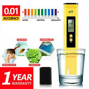 LCD Digital Electric PH Meter Tester Pocket Aquarium Water Test Pens Hydroponics