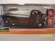 New 1947 Ford COE Car Hauler Truck Jada Just Trucks Die Cast Set