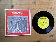 "Sneakers 7"" EP Excellent Vinyl Record Carnivorous Records 1 P/S"