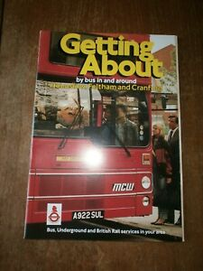 London Transport Timetable Book-Hounslow/Feltham/Cranford September 1984