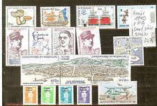 Year 1990 except # 514 - 20 stamps saint pierre and miquelon
