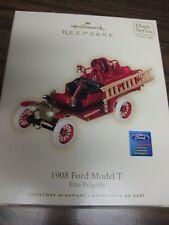2008 Hallmark Keepsake 1908 Ford Model T Fire Brigade