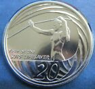 2007 Australia 20c UNC Coin, Year of the Surf Lifesaver Royal Australian Mint