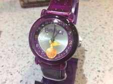 Vintage Harry Potter GOLDEN SNITCH Purple Sparkle Seiko Watch, HC0028  **NEW**