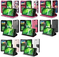 """For Motorola Moto E5 XT1920DL 5.7"""" Wallet Pouch Credit Card Case Phone Cover"""