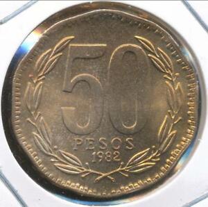 Chile, 1982 50 Pesos - Choice Uncirculated