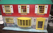 Vintage 1950's Wolverine Tin Litho Dollhouse Toy Retro Mid Century Modern