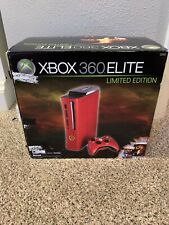 Microsoft Xbox 360 Elite Resident Evil 5 Limited Edition 120GB Red Console...