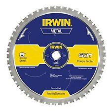 Irwin Tools Metal-Cutting Circular Saw Blade, 8-inch, 50T (4935557), New, Free S