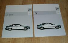 Volvo S60 Brochure Set 2004 - 2.0T 2.5T T5 D5 - S SE Sport