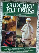 Crochet Patterns Herrschners Magazine Nov/Dec1987 Christmas Deco & Gifts